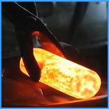 Forjamento de cobre da indução da fornalha do aquecimento de indução da barra (JLZ-70KW)