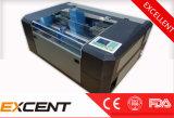 Kleiner CO2 Laser-Stich und Ausschnitt-Maschine