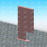 장방형 가벼운 상자 알루미늄 강철 광고 제품