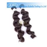 Kbl unverarbeitetes Remy spätestes Haar spinnt in Kenia
