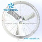 Vidro de fibra de 36 polegadas que abriga o ventilador poli para a recirculação