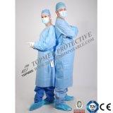 Устранимая защитная мантия изоляции SMS хирургическая водоустойчивая, Nonwoven мантии