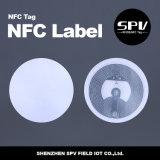 Topaz de papel 512 ISO14443A 13.56MHz da etiqueta de NFC para a segurança
