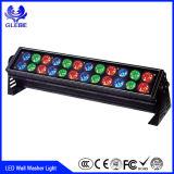 Indicatore luminoso esterno di progetto dell'indicatore luminoso 24W della rondella della parete di alta qualità IP65 12-24V 12V 24W LED