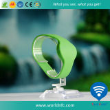 Bracelets ovales imperméables à l'eau de silicones d'IDENTIFICATION RF avec OIN 14443A