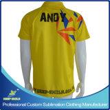 サッカーゲームのチームのための顧客用昇華印刷のサッカーのTシャツ