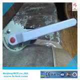 Válvula de borboleta de alumínio da bolacha da liga com punho JIS SS316DISC padrão e haste BCT-ALU-BFV316