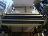 Fria duplo corte fotocélula saco que faz a máquina