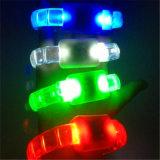 주문 인쇄 LED 번쩍이는 팔찌