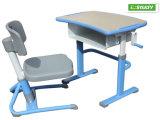 Tipo MDF de los muebles de escuela de Ergotech y silla y vector Hya-105 de los estudiantes del metal