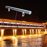 Lumière linéaire imperméable à l'eau extérieure d'intérieur automatique de rondelle de mur de DMX DEL