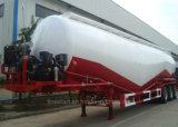 جافّ ضخمة (مسحوق ناقلة نفط) مقطورة نصفيّة من شاحنة مقطورة