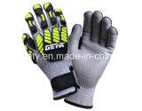 TPR (TPR9005)를 가진 반대로 Impact Work Glove