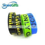 Wristband promozionale del silicone di stampa dei regali