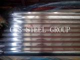 Folha do telhado do metal de Zinc60 Galv/chapas de aço onduladas galvanizadas
