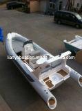 Liya 10 Boot van de Rib van de Boot van China van Personen Semi-Rigid Opblaasbare voor Verkoop