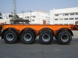 Axles 40feet 4 каркасный контейнера трейлер Semi