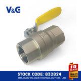 Válvulas de gas de cobre amarillo de Inig&Watermark Aproved con el Ce (10.99231)