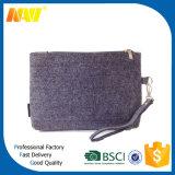 Wärme-Ausschnitt-Form-Dame Felt Cosmetic Bag