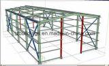 Edificio prefabricado industrial de la estructura de acero