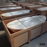 Comercio al por mayor Solid Surface autoportante Resina Piedra Bañeras