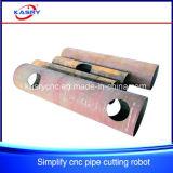 Plasma /Flame del CNC del tubo/del tubo del hierro que corta la perforadora del orificio