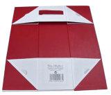Шикарная складная бумажная коробка вина (YY-B0310)