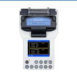 Máquina que empalma óptica potable de la fusión de fibra (KL-510E)