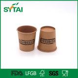taza disponible de la sopa del papel de Kraft de la pared de 16oz Singel