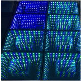 結婚式の装飾3D RGB 3in1の錯覚ミラーの無限LEDダンス・フロア