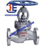 Válvula de batente pneumática do globo do aço de molde da flange de ANSI/DIN/JIS