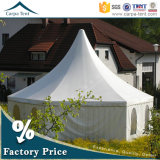 PVC Canvas Multi-Sided Event Tent di Resistant 6m Diameter White della pioggia
