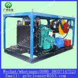下水管の洗剤に使用するディーゼル高圧ウェットブラスト機械