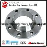 Flange de placa baixa de aço de trituração de giro personalizada do CNC da elevada precisão