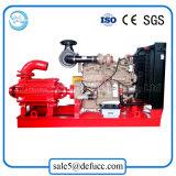 Bomba centrífuga gradual horizontal de alta presión conducida por el motor diesel