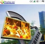 L'alta qualità IP65 impermeabilizza P10 il segno dello schermo di pubblicità esterna LED