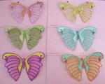 Decorações da borboleta (T06332A)
