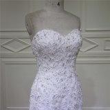 Платье венчания Alibaba вышивки изображений Mermaid реальное