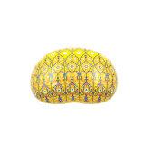 Gelber Farben-Geschenk-Verpackungs-Zinn-Kasten/Geschenk-Kasten (B001-V22)