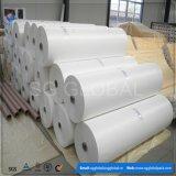 Белые ткани сплетенные PP плоские от Китая