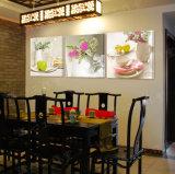 Frutas modernas de la pintura de pared de la venta caliente de 3 pedazos que pintan el cuadro del arte de la pared de la decoración del sitio pintado en la decoración Mc-226 del hogar de la lona