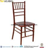 Cadeira Stackable de madeira barata de Tiffany para o banquete
