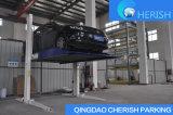 Deux véhicules de poste hydraulique/élévateur automatique de stationnement avec du ce