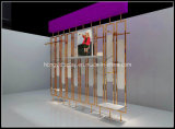 المعادن عرض لوحة الجدار لتجهيزات المحلات والتجزئة