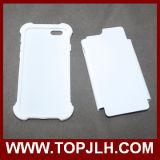 3D 2 dans 1 caisse de téléphone de sublimation pour l'iPhone 6/6s