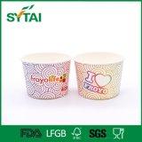 環境に優しい使い捨て可能ペーパーアイスクリームのコップをカスタム設計する