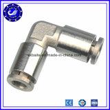 Ajustage de précision pneumatique à haute pression en métal de la Chine avec nickelé