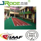 Pavimentazione di gomma all'ingrosso esterna atletica dell'unità di elaborazione di sport poco costosi