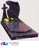 Европейский тип подгоняет Headstone мавзолея гранита природы