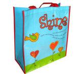 Non сплетенные выдвиженческие хозяйственные сумки подарка ткани (LJ-91)
